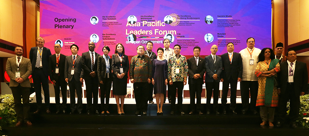 Asia - Pacific Region Pledges to Advance Open Government