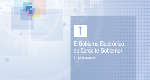 Best Practices in E-Government of Korea(spanish version)