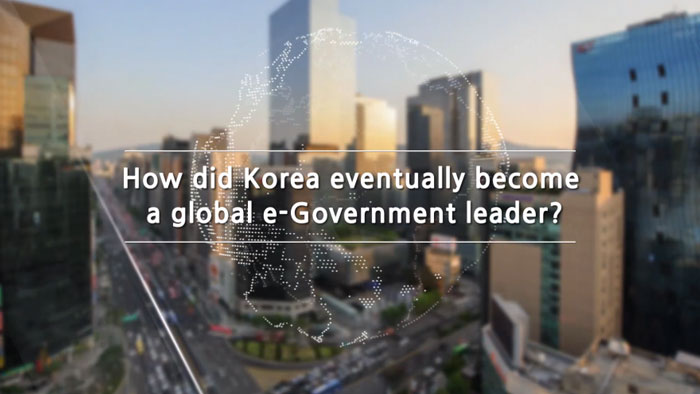 Korea's E-Gov. Development and success factors