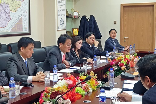 Korean delegation on e-Government visits Uzbekistan and Mongolia