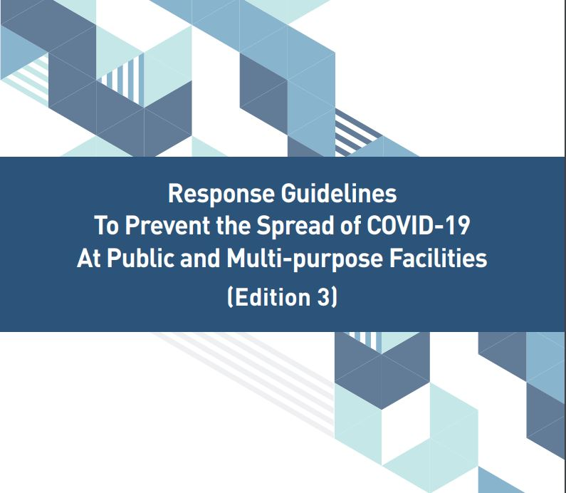 Response Guidelines To Prevent the Spread of COVID-19 At Public and Multi-purpose Facilities